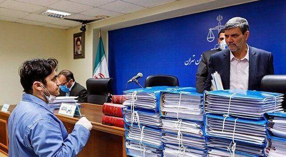 پنجمین جلسه دادگاه روح الله زم برگزار شد