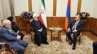 دیدار روحانی و رئیس جمهور ارمنستان