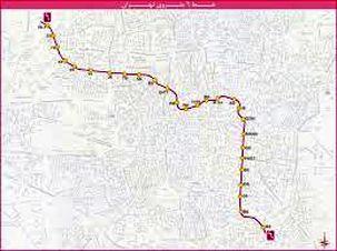 بازدید خط 6 مترو توسط معاون حمل و نقل