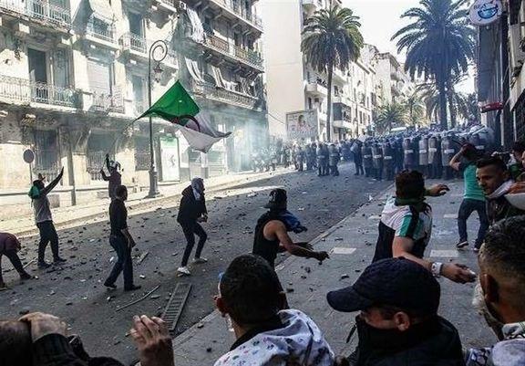 پلیس الجزایر با  معترضان درگیر شد