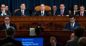نخستین جلسه عمومی تحقیقات استیضاح ترامپ آغاز شد