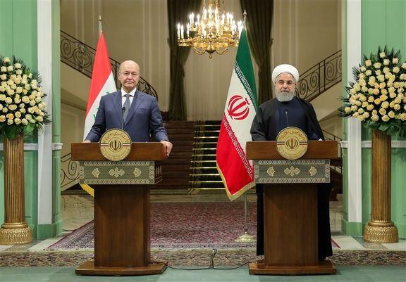 سفر روحانی به بغداد خط و نشان کشیدن جمهوری اسلام برای آمریکا بود