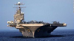 یکی از ملوانان ناو هواپیمابر آمریکا در خلیج فارس ناپدید شد