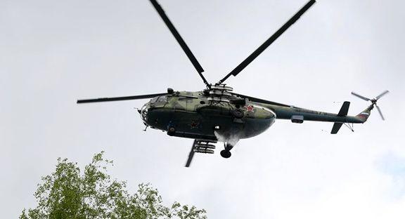 بالگردامآی-۸ روسی سقوط کرد