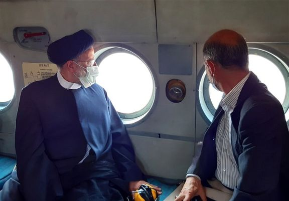 رییس جمهوری از معادن زغالسنگ پروده طبس بازدید هوایی کرد