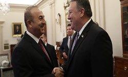 گفتگوی تلفنی وزرای خارجه آمریکا و ترکیه