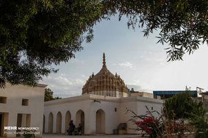 تصاویر شگفت انگیز  معبد هندوها در جنوب ایران + عکس