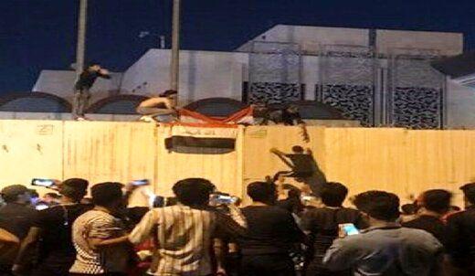 دستگیری عامل آتشزدن کنسولگری ایران در نجف