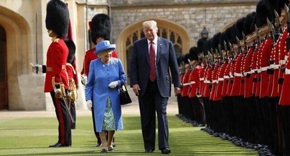 ترامپ احتمالاً در ماه ژوئن به انگلیس سفر می کند