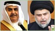 موآخذه وزیر خارجه بحرین توسط همتای عراقی خود/توئیت وزیرخارجه بحرین توهین به مقتدی صدر بود