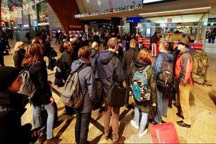 اعتصاب در راهآهن آلمان حرکت قطارها را لغو کرد