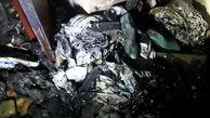 یک کارگاه کفاشی در خیابان سپهسالار تهران در اتش سوخت