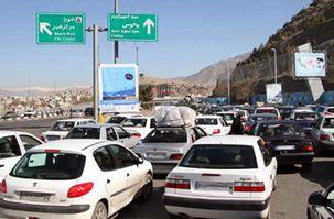 آخرین اطلاعات ترافیک جاده ای در تعطیلات اول آذر ماه