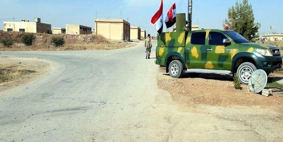 ارتش سوریه توانست یک میدان نفتی را به کنترل خود درآورد
