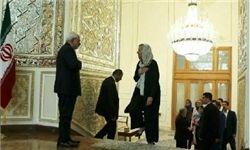 دیدار ظریف با وزیر خارجه هلند