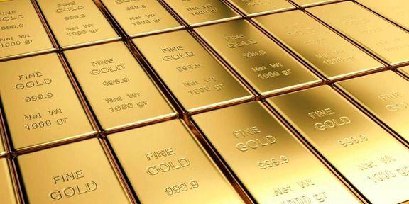 رشد قیمت طلا در بورس لندن با افت ارزش دلار