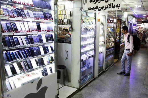 افت شدید قیمت گوشی های آیفون