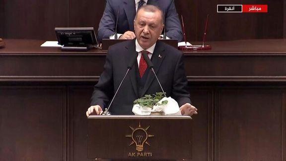 اردوغان: ما از حمله سوریه به ادلب جلوگیری می کنیم