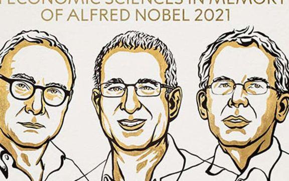 برندگان جایزه نوبل اقتصاد در سال ۲۰۲۱ معرفی شدند
