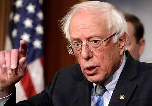 برنی سندرز به شدت از نتانیاهو و ترامپ انتقاد کرد