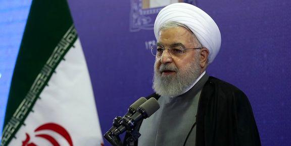 روحانی: امسال تحریم ها شدیدتر از هر زمان دیگری است/دعوای ما با آمریکا  نظامی و اقتصادی نیست اختلاف ما استراتژیک است