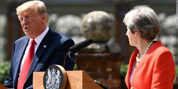 بلومبرگ: ترامپ برای جزئیترین نزاع با لندن نزدیکترین دوست خود  را از دست داد