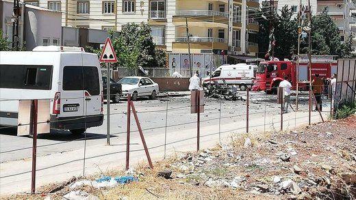 2 کشته در پی انفجار خودور بمبگذاری شده در ترکیه