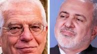 ظریف با مسئول اقدام خارجی اتحادیه اروپا گفتوگو کرد