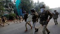 اعتراضات دانشجویان سراسر هند بر علیه پلیس کشور به خشونت کشیده شد