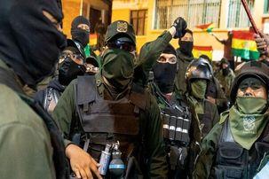 وزیر دفاع بولیوی از سمت خود استعفا کرد