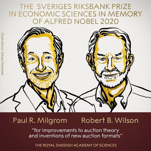 جایزه نوبل اقتصاد به دو اقتصاددان آمریکایی رسید