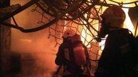 بازار تاریخی تبریز در آتش سوخت