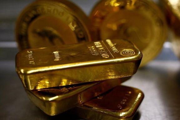 قیمت طلا نزدیک به بالاترین حد خود در دو هفته اخیر ماند
