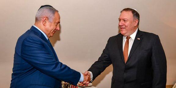 نتانیاهو در دیدار پامپئو: موضوع رایزنی من ایران و ایران و ایران است
