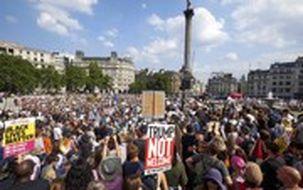 خیابانهای لندن صحنه اعتراضات ضد نژادپرستی