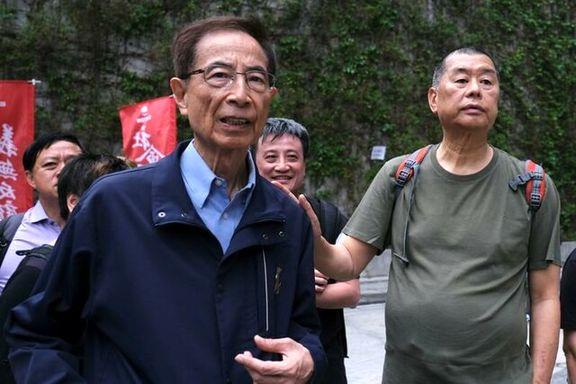 دیدار پامپئو با رهبر حامی دموکراسی خواه هنگ کنگ
