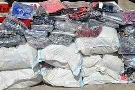 مجتمع های تجاری از پوشاک قاچاق پاکسازی شد