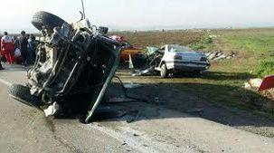 مرگ 3 نفر بر اثر تصادف در جاده خرم آباد