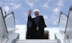 روحانی وارد چین شد