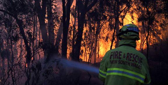 از بین رفتن 100 واحد مسکونی در آتش سوزی جنگل های استرالیا