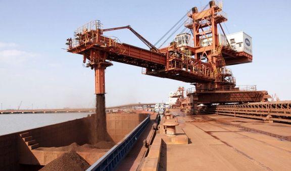 توقف افزایش قیمت سنگآهن در معاملات اولین روز هفته جاری