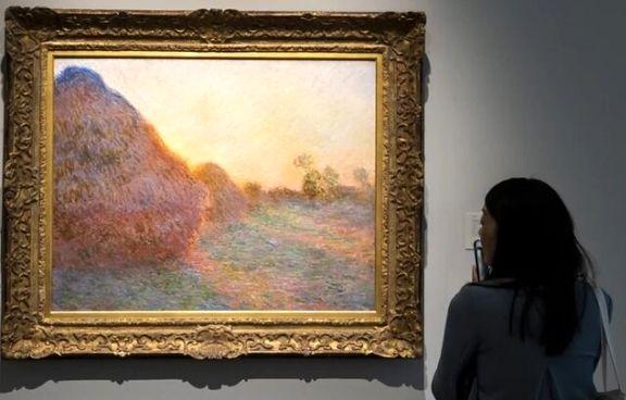 فروش نقاشی مونه در مزایده به قیمت 110 میلیون دلار