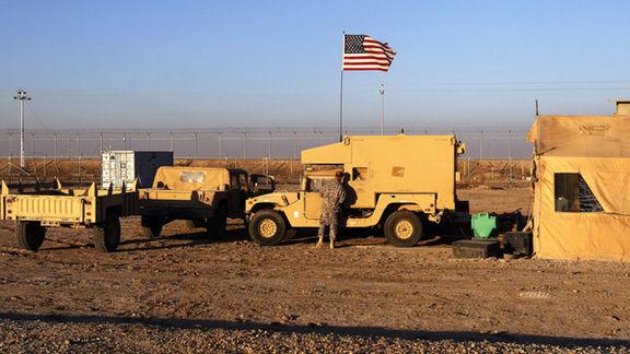 حمله راکتی به یک پایگاه میزبان نیروهای آمریکایی در عراق