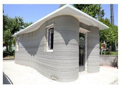 ساخت اولین ساختمان با فناوری چاپ سهبعدی در کشور