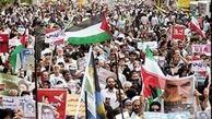 حضور سران کشور در راهپیمایی روز قدس