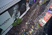 ادامه بحران سیاسی در هنگ کنگ / درگیری معترضان با پلیس هنگ کنگ به خشونت کشیده شد