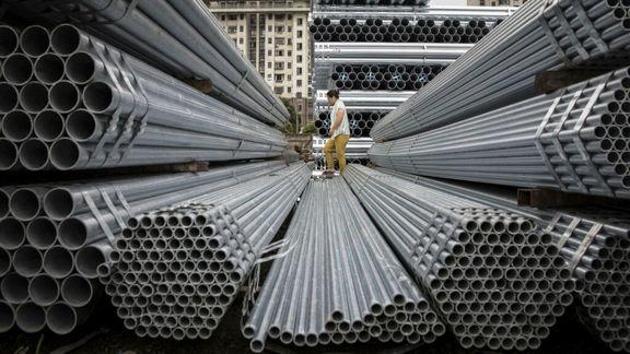 مصرف محصولات فولادی در فروردین ماه ۸ درصد افزایش یافت