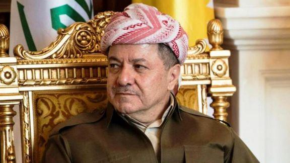مسعود بارزانی در راستای تشکیل دولت با نمایندگانی از پارلمان عراق دیدار کرد