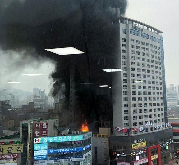 آتشسوزی هتلی در کره جنوبی۲۰ کشته و مجروح برجای گذاشت+ عکس