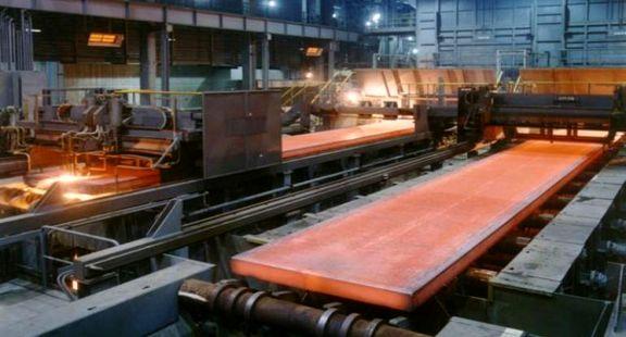 قیمت اسلب فولاد هرمزگان 52 درصد افزایش یافت